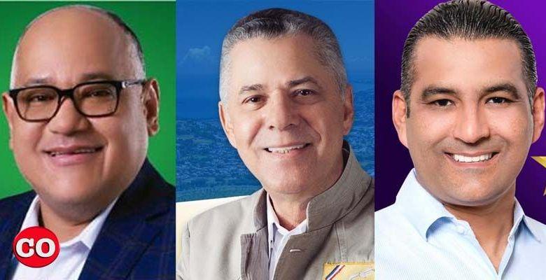Desde la izquierda, Joaquín Hilario, Manuel Jiménez y Luis Alberto Tejeda