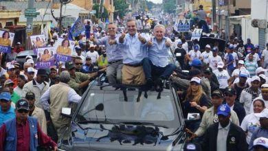 Photo of Manuel Jiménez obtiene refuerzo de Luis Abinader y Antonio Taveras en la carrera por la Alcaldía