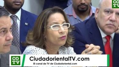 Tania Báez, delegada política del PQDC ante laJCE