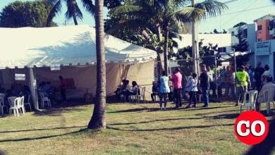 Photo of Solo uno de cinco colegios electorale está funcionandos en los Bomberos del Ensanche Ozama