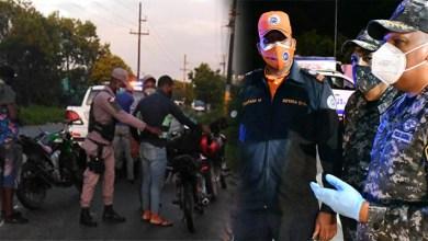 Photo of Policía apresa en SDE a 114 personas por violar toque de queda y 82 por andar sin mascarilla