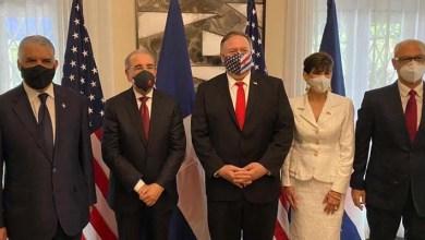 Photo of Danilo Medina se reúne con secretario de Estado de los Estados Unidos, Michael Pompeo