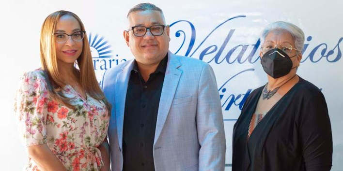 Katiuska Baez, Joaquín Hilario y Sara Guilamo