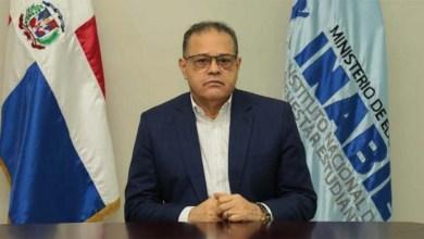Cecilio Rodríguez, director ejecutivo del INABIE.
