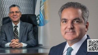 Manuel Jiménez, (i) y Neney Cabrera