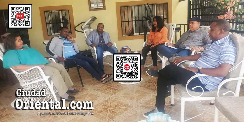 Varios de los regidores del PRM que se sienten acosados por el alcalde Manuel Jiménez