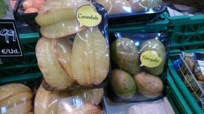 Frutas: Carambola y Guayaba importadas desde Colombia y Malasia