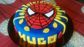 Este pastel fue para uno de los niños que cuida actualmente