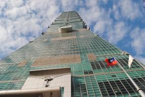 Taipei 101. Como su nombre lo dice, tiene 101 planos. En su momento fue el más alto del mundo. Foto: M. Riggi