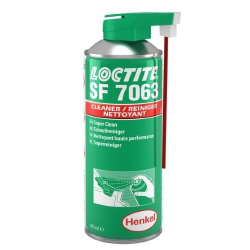 Onderdelenreiniger - voor algemeen gebruik. Ideaal om vóór het verlijmen en afdichten te gebruiken. Laat geen resten achter. LOCTITE® SF 7063 is een universeel product voor het reinigen en ontvetten van eender welk soort oppervlak of machineonderdeel alvorens te beginnen met reparaties of assemblages waarbij gebruik wordt gemaakt van LOCTITE-lijmen. Het is een reinigingsmiddel op basis van oplosmiddel en het product laat geen resten achter. LOCTITE SF 7063 verwijdert de meeste vetten, oliën, smeermiddelen en metaalspaanders. Algemene oplosmiddelhoudende onderdelenreiniger Ideaal om vóór het verlijmen en afdichten te gebruiken Laat geen resten achter Verwijdering van de meeste vetten, oliën, smeermiddelen, metaalspaanders en fijne deeltjes van alle oppervlakken harlingen lauwersoog