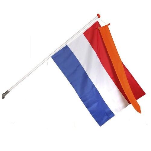 Nederlandse vlag hollandse holland koningsdag 2021 koning harlingen lauwersoog