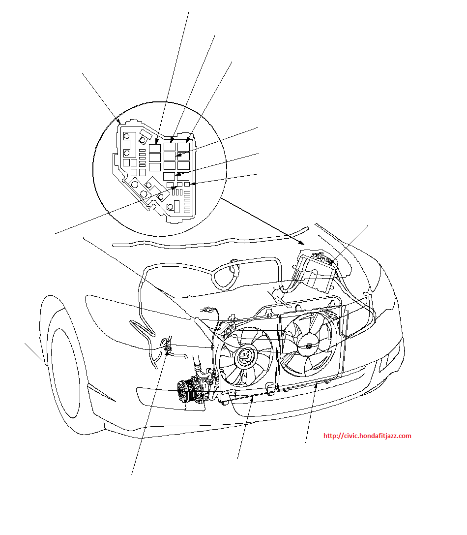 1997 acura integra air conditioning wiring diagram with honda civic radiator fan relay location on discussion