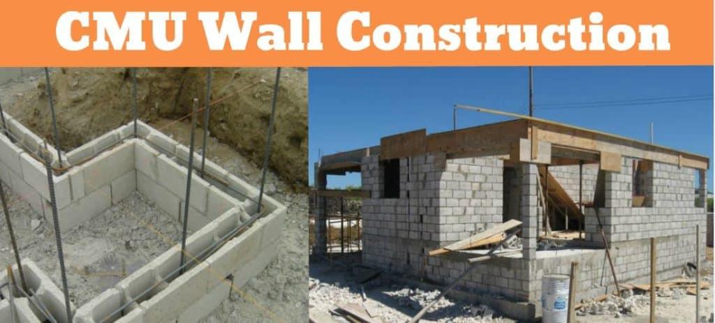 What Is CMU Wall   CMU Block   CMU Wall Construction   CMU Block Cost   CMU Block Size   Cinder Block