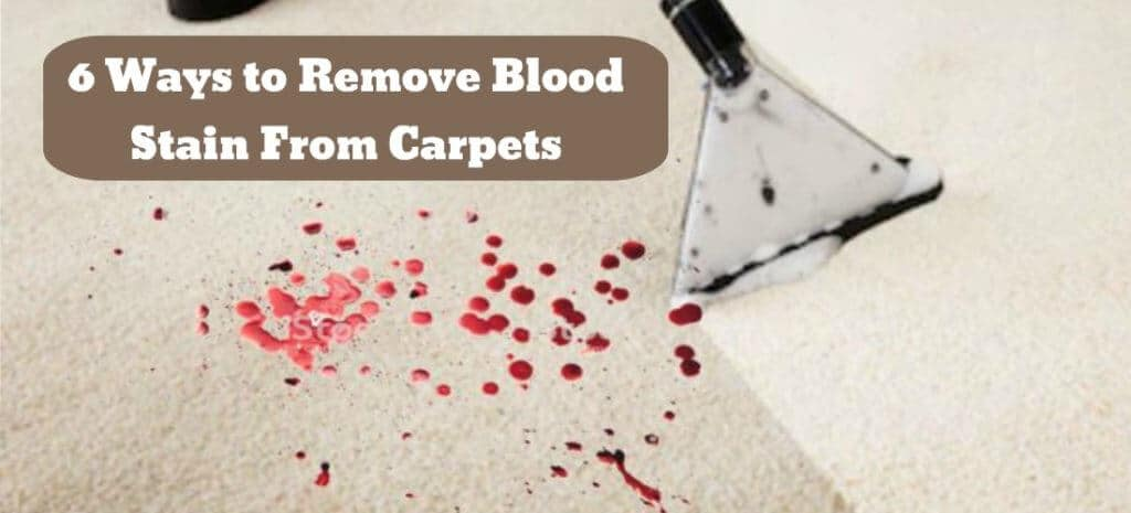 How to Get Blood Out of Carpet