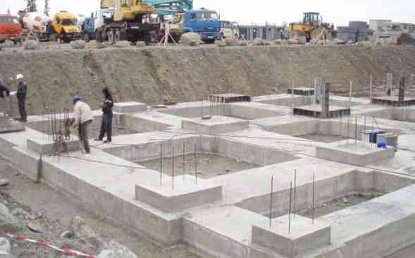 difference between footing and foundation
