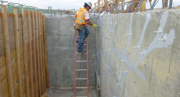 concrete crack repair