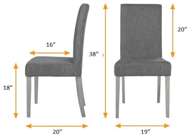 Standard Living Room Chair Dimension - 10 Types of Furniture in House and Their Standard Size