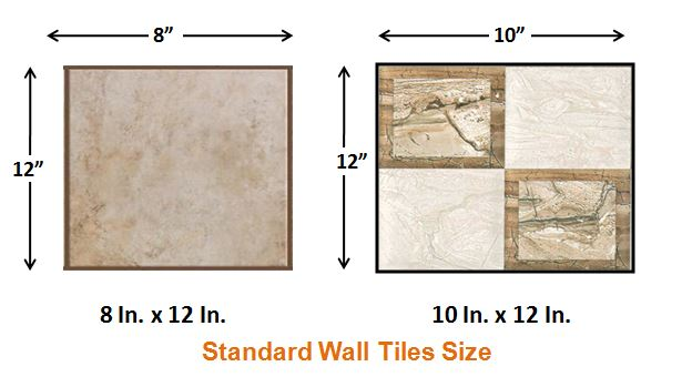 Standard Wall Tile Size - How to Calculate Tiles Needed for a Floor
