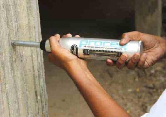 Rebound Hammer Test Instrument