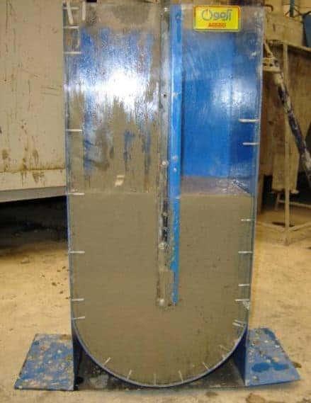 Self Compacting concrete test