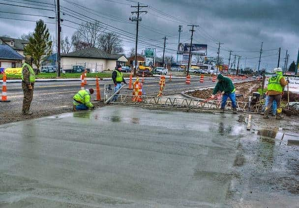 Pouring Concrete in Rain | How to Protect Concrete From Rain