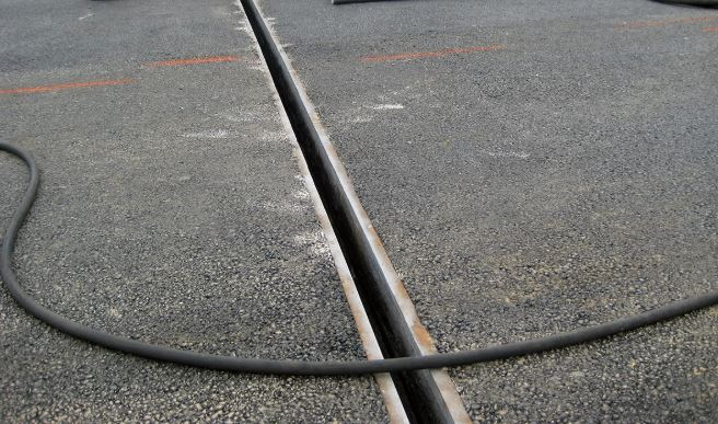 Expansion Joint in Pavement