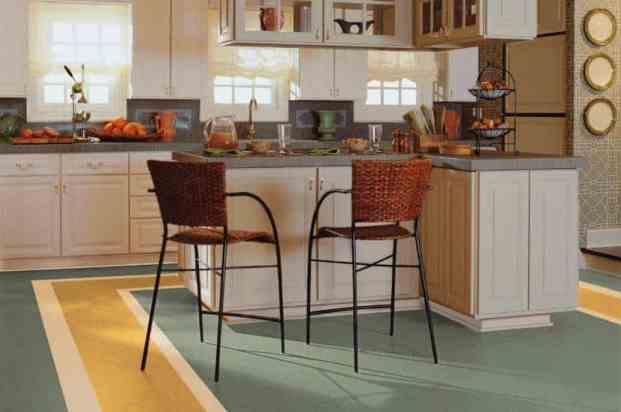 Linoleum Resilient Flooring