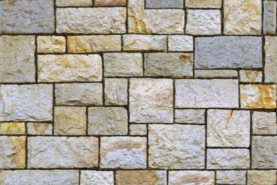 Uncoursed Square Rubble Masonry