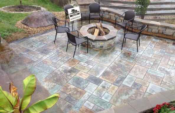 Stamped Concrete Process   Stamped Concrete Cost