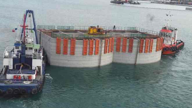 Floating Caisson Foundation