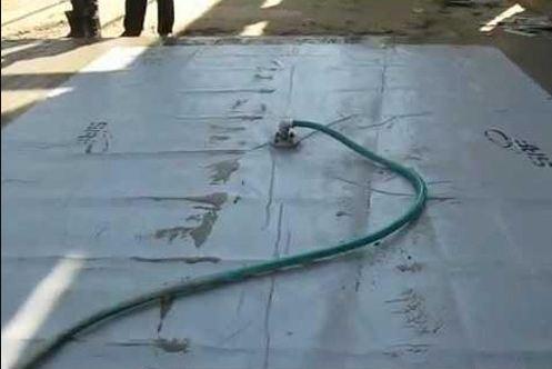 Vacuum concrete