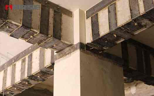 External Plate Bonding for Column and Beam Repair - Retrofitting of Building