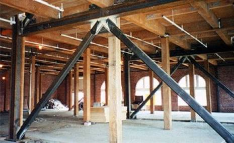 Retrofitting of Building by Steel Bracing Support
