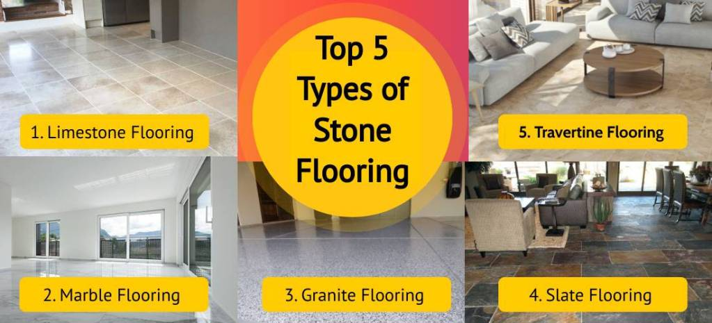 Types of Stone Flooring for Your Home