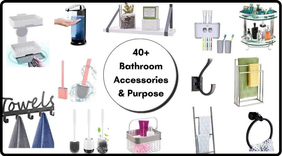 41 Bathroom Accessories