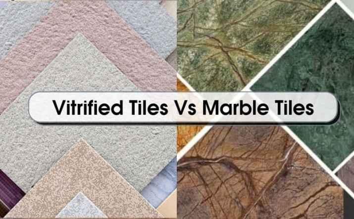 Vitrified Tiles Vs Marble Tiles