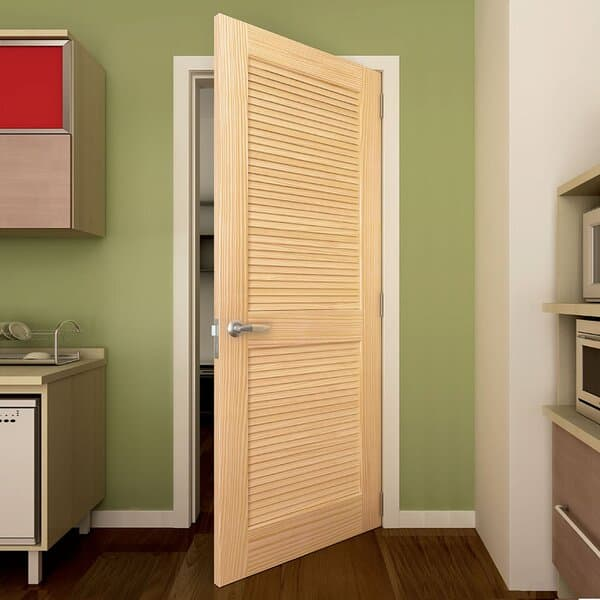 Solid Wood Louvered Doors