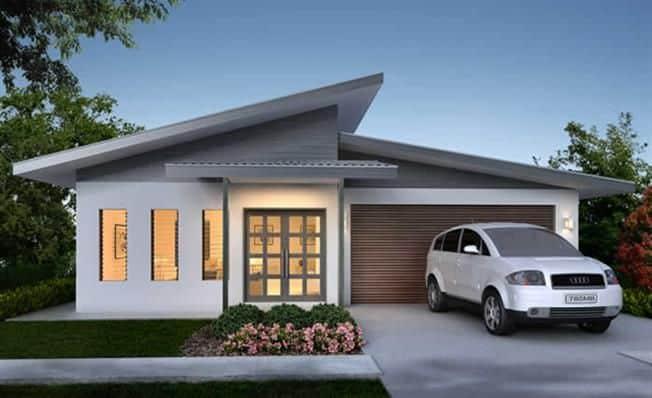 Skillion Roof Home Design