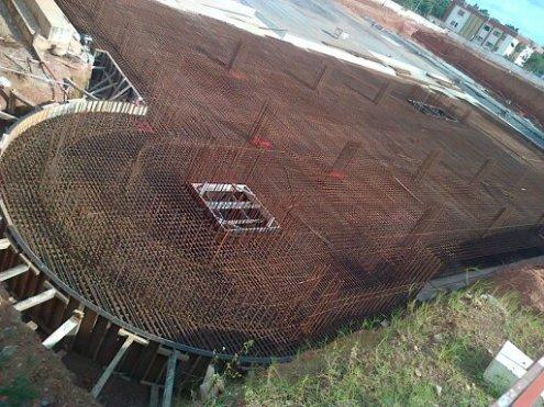 Flat Plate Type of Raft Foundation
