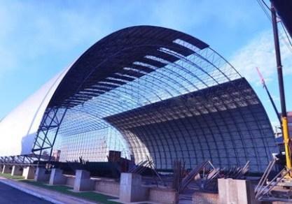 Barrel Vaults Space Frame Structure