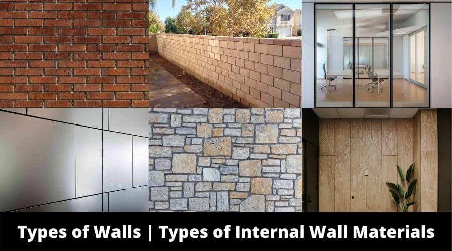 Types of Internal Wall Materials