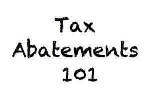 Tax-Abatements-101
