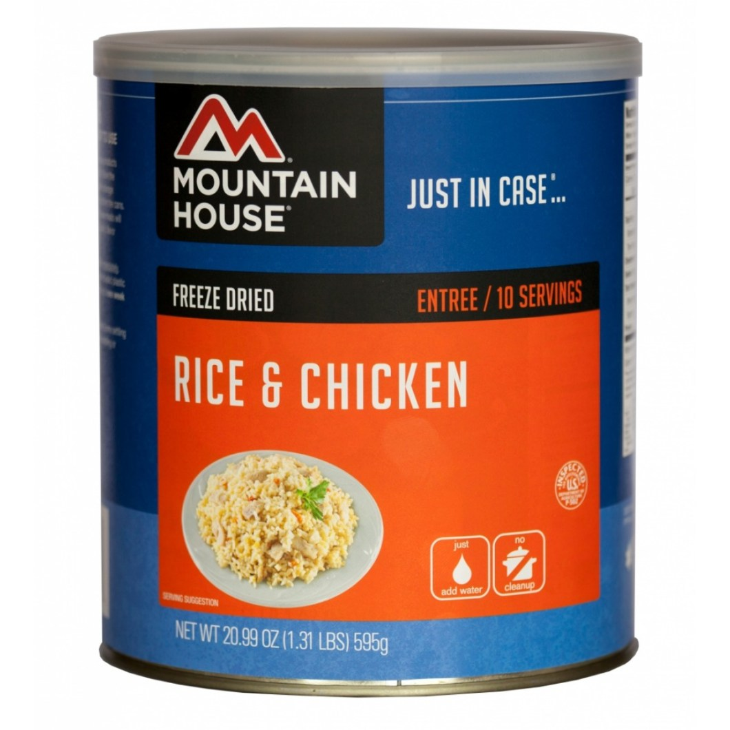 Rice And Chicken (#10 Can)