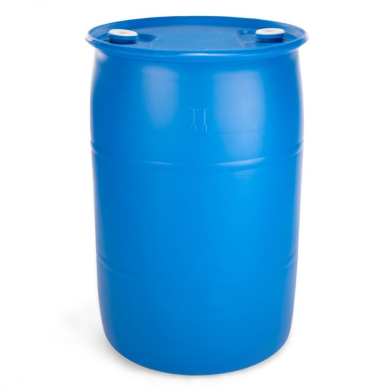 55 Gallon Drum - Blue - Tight Head