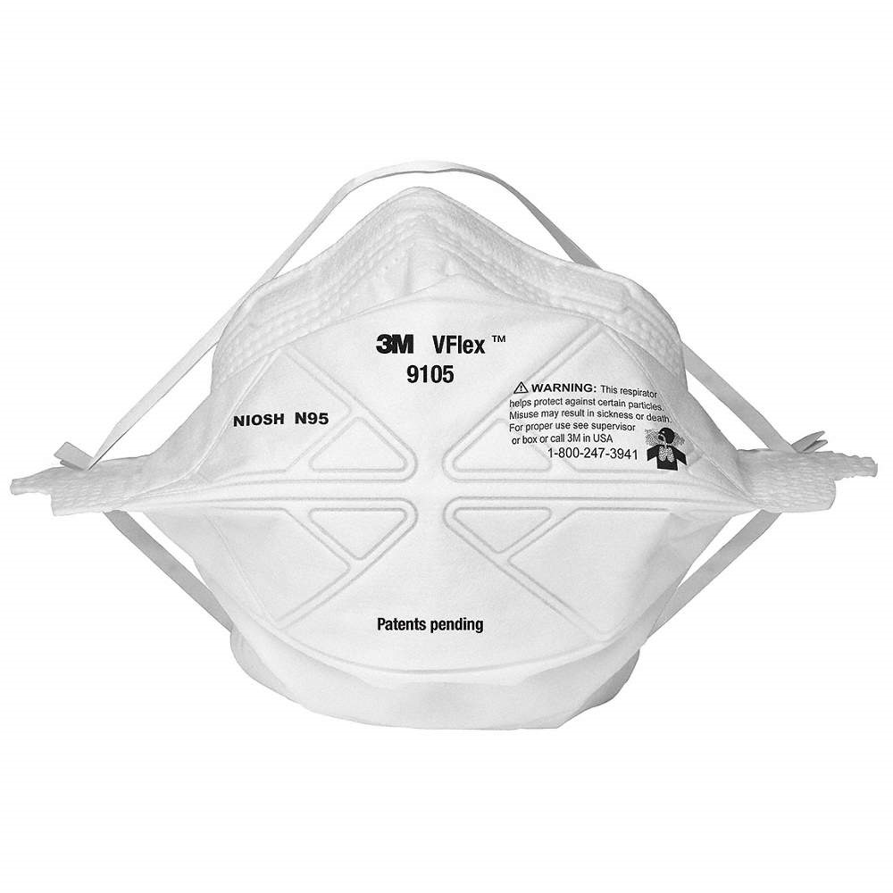 3M V-Flex 9105 Disposable N95 Respirators