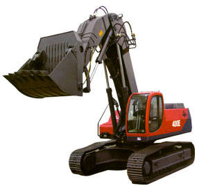 Crawler Hydraulic Excavator with Face Shovel