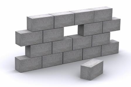 How to store concrete blocks