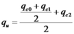 Pile capacity calculation formula using SCPT data