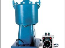 Centrifuge apparatus used for binder content test of bituminous mix