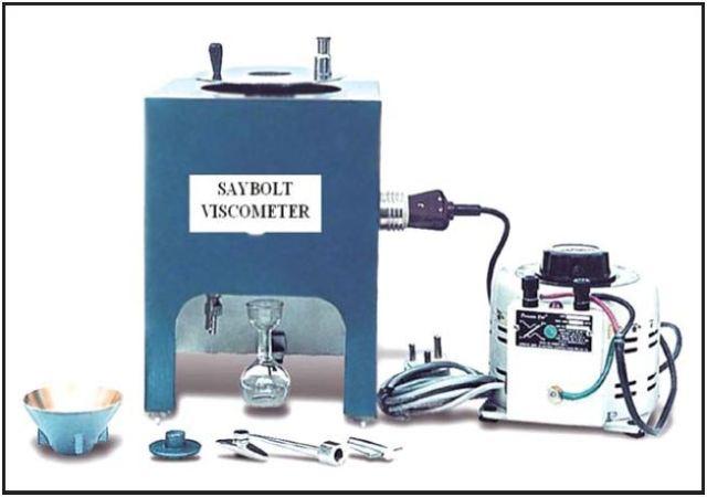 Saybolt Furol Viscometer - used for viscosity test of bitumen emulsion